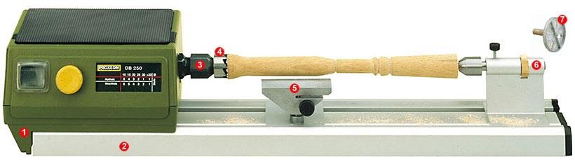 Proxxon Micro Woodturning Lathe DB 250