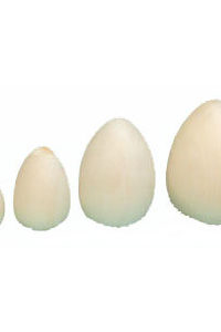 Basswood Eggs Carving Decorating