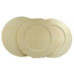 Basswood Plates