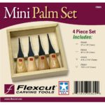 Woodcarving Mini Palm Set FR604