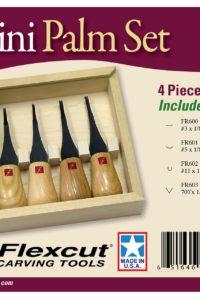 Woodcarving Mini Palm Set FR604