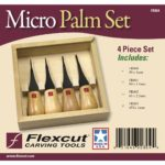 Flexcut FR804 Micro Woodcarving Palm Set