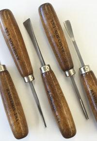 Basic Woodcarving Tool Set Long Handles