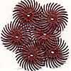 3M Radial Bristle Discs 34inch Diameter 220grit