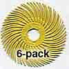 3M Radial Bristle Discs 2 inch Diameter 80grit