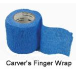 Woodcarvers Protection Finger Wrap
