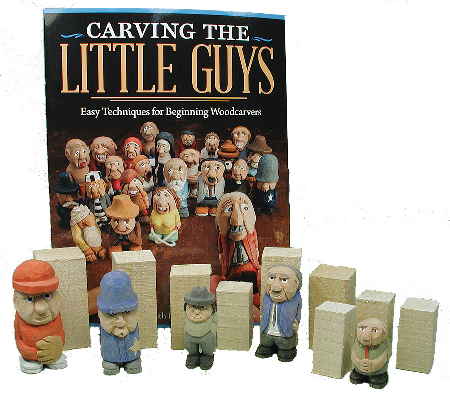 Carving The Little Guys Kit