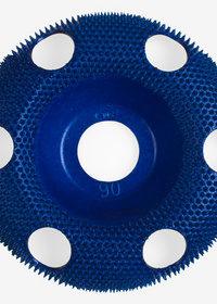 Holey Galahad Coarse Blue Carbide Disc