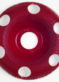 Holey Galahad Medium Red Carbide Disc