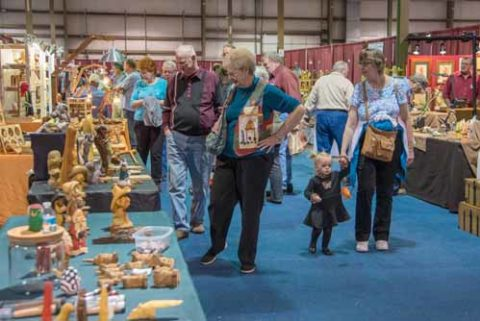 September Woodcarving Competitions