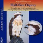 Osprey Half Size Wood Carving