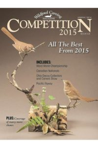 Wildfowl Carving Magazine COMPETITION 2015