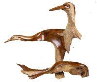 stylized cormorant
