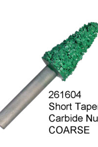 Short Taper Carbide Nugget COARSE Bur