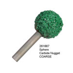 Sphere Carbide Nugget COARSE Bur