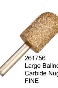 Large Ball Nose Carbide Nugget FINE Bur