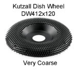 Kutzall Dish Carving Wheel VERY COARSE