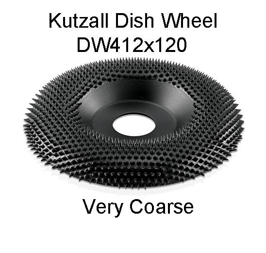 Kutzall Dish Carving Wheel VERY COARSE