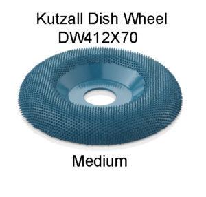 Kutzall Dish Carving Wheel Medium