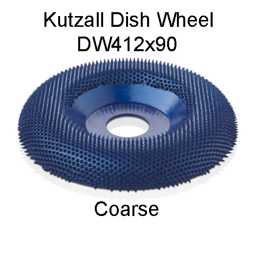 Kutzall Dish Carving Wheel COARSE