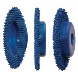 "#10087 2"" Merlin Thin Profile Carbide Disc Coarse Blue"