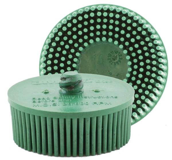 Merlin2 QC Bristle Coarse Green