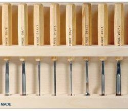 Swiss Made Pfeil Carving Tools Mid Size Set of 12