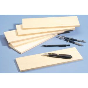 Basswood Practice or Building Boards