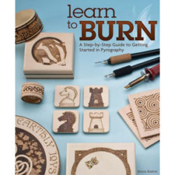 Learning Wood Burning Book