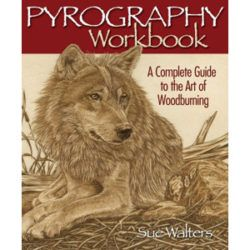 Pyrography Workbook Complete Woodburning Guide