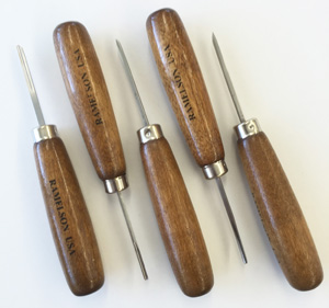 Detail Carving Set Long Handle