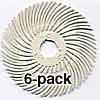 3M Radial Bristle Discs 2 inch Diameter 120grit