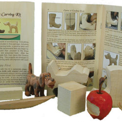 Beginner Wood Carving Kits and Cutouts