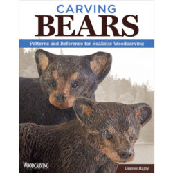 Carving Bears book with patterns.