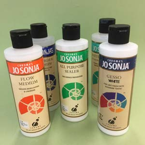 JoSonja Mediums Gesso Sealer Varnish