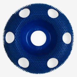 Holey Galahad Coarse Blue Carbide Disc