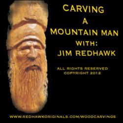 Mountain Man Wood Carving DVD