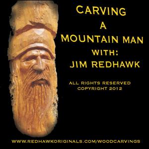 Mountain Man Wood Carving DVD