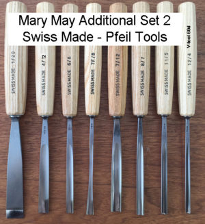 Mary May Additional Carving Set 2