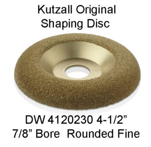 Kutzall Dish Carving Wheel FINE