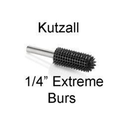 Kutzall Carving Burs 1-4Inch Shaft