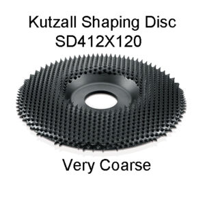 Kutzall Shaping Carving Disc VERY COARSE
