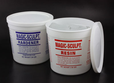 Woodcarvers Magic Sculpt Epoxy Clay