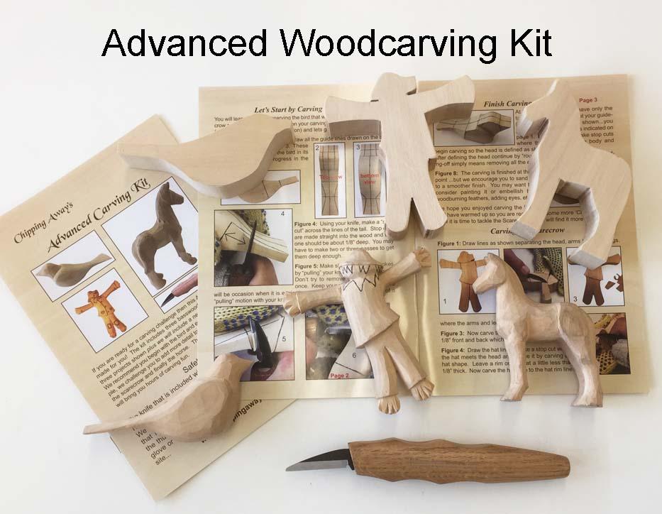 Advanced Wood Carving Kit N Knife