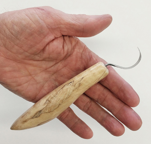 Drake Right Handed Hook Spoon Knife