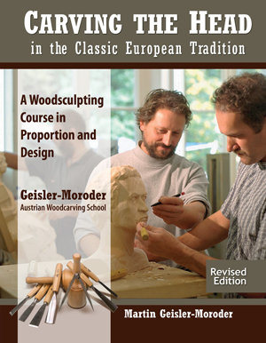 Carving Human Head European Tradition