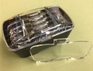 Carvers Optical Magnifier Visor lens
