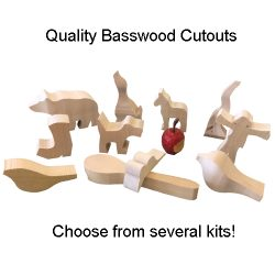 Cutouts 4 Beginner Woodcarvers